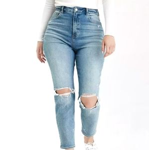 New American Eagle Mom Jeans Curvy Size 14